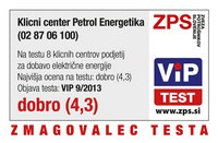 zmagovalec PETROL klicni center L